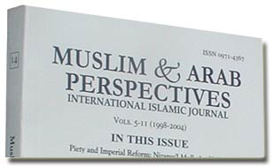 Muslim & Arab Perspectives: International Islamic Journal