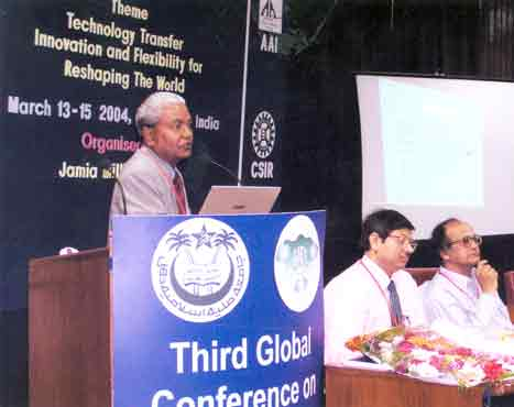 Prof. H. Paul delivering keynote address at GLOGIFT organised by