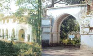 Entrance to the Jinnah House, Mumbai