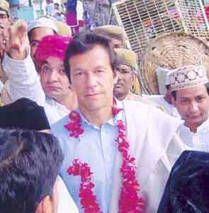 Imran khan at Ajmer