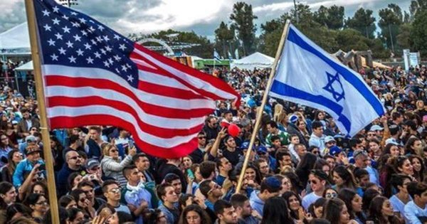 "The Israeli-American Council's ""Celebrate Israel"" festival in Los Angeles earlier 2018."